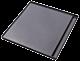 Μαντεμένια Πλάκα Ψησίματος Plamen 42X40 cm Λεία με Επισμάλτωση